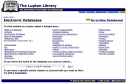Old database page at UTC